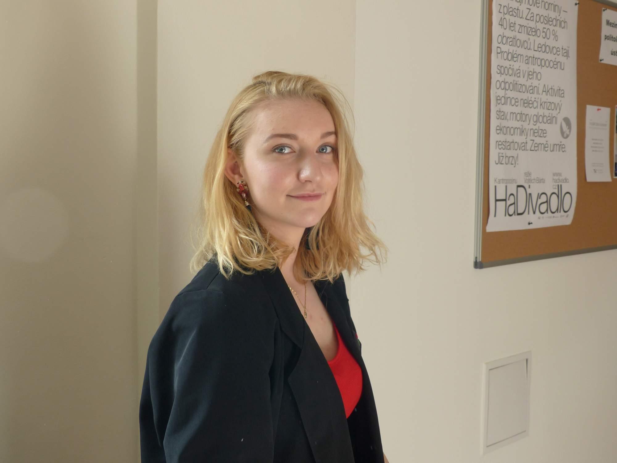 Nová koordinátorka Masarykových debat Magdaléna Janigová; Autor: Richard Kuczinský