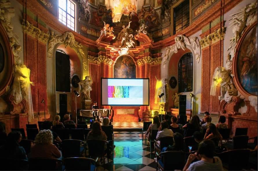 Koncerty se tradičně hrají v Kapli Božího těla na Konviktu. (Zdroj: archiv Academia Film Olomouc)