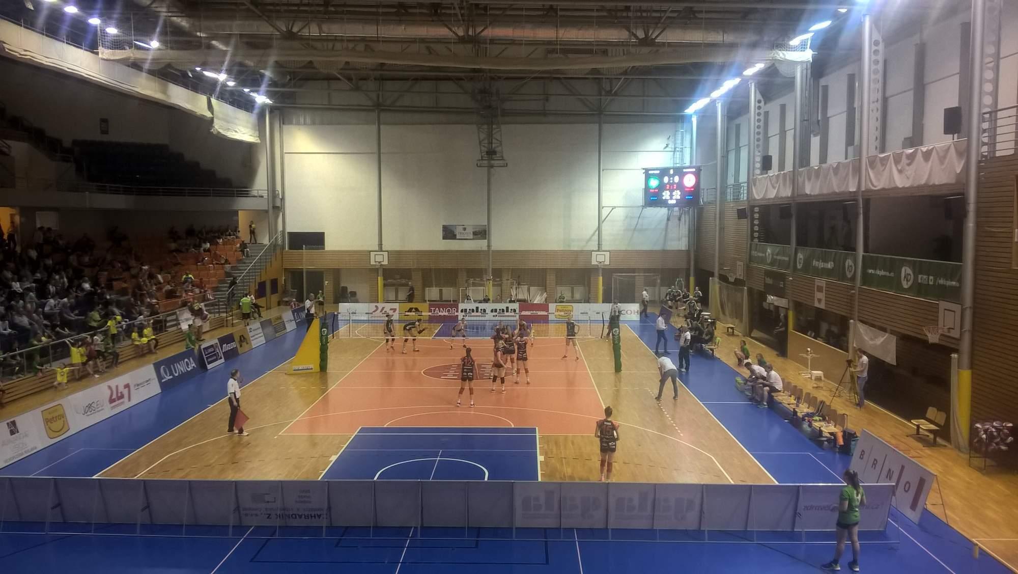 Ostravské volejbalistky porazily Brno a radují se z bronzu