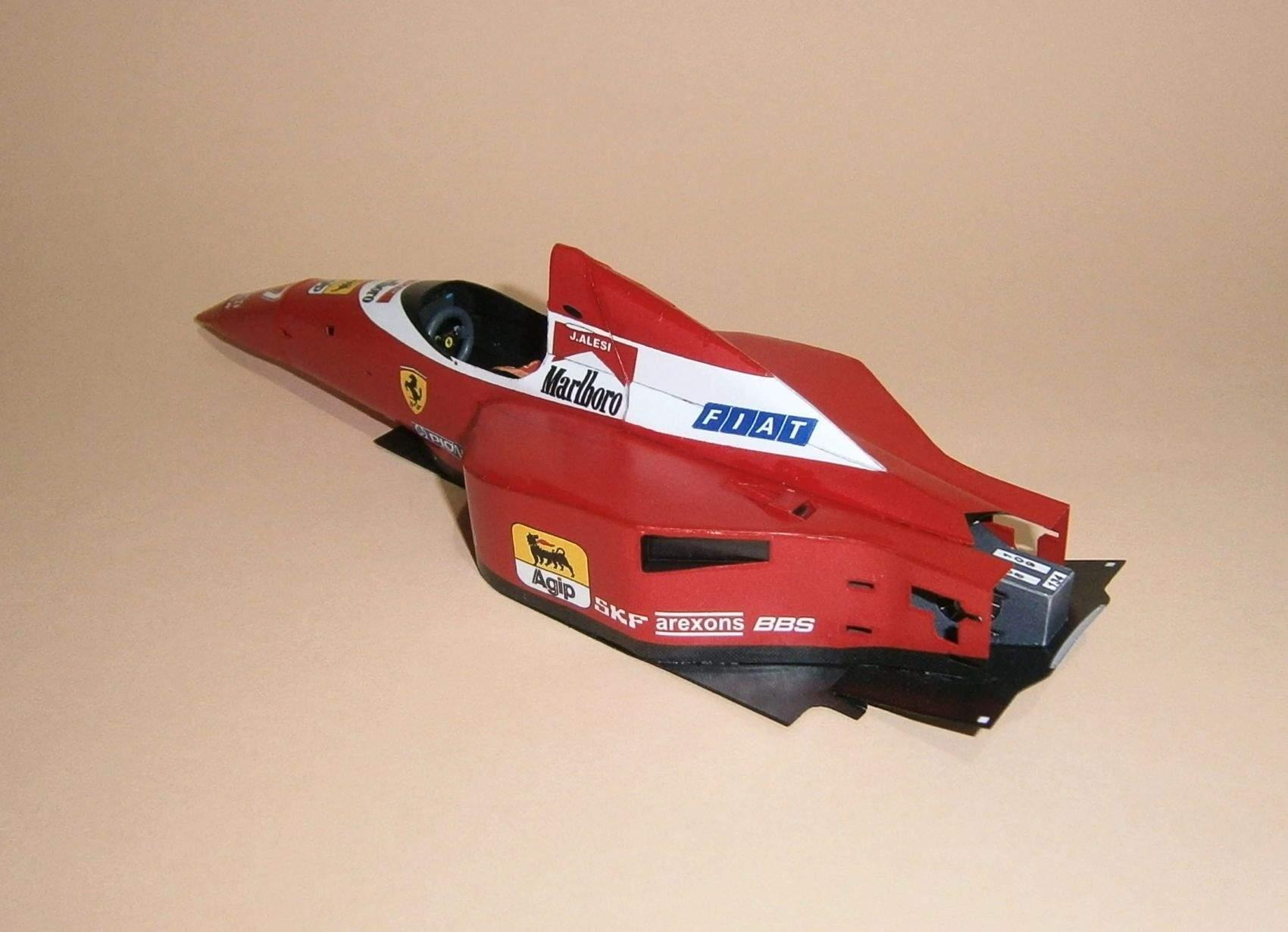 Ferrari F93 - J.Alesi, GP Monaco 1993