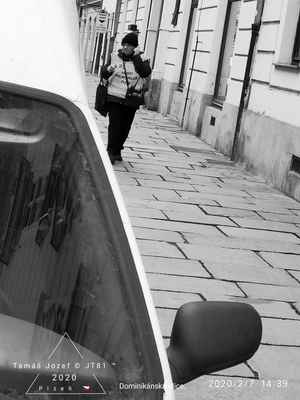 Lasardopictures 2020 - Druhá špionážní ;-) fotka mé kolegyně ;-) Ivana.K. dne 7.2.2020/v pátek v Dominikánské ulici v Plzni. * Dne: 7.2.2020/v pátek v Dominikánské ulici v Plzni. * Fotograf: D'J.Tamáš|LasardoPictures * Fotoaparát: Xiaomi Redmi Note 8 lite. * All Rights Reserved Photo: LasardoPictures *IMG_20200207_144037.jpg | fotoaparát: Xiaomi, MI 8 Lite | datum: 07.02.2020 14:39:36 | čas: 1/244 s | clona: f/1.9 | ohnisko: 3.9 mm | ISO: 125 »*« * www.lasardopictures.webnode.cz    * www.forest1981.estranky.cz * JT81 R.I.P hudba - www.youtube.com/playlist?list=PLALJeiPjfjpZFiG27SmrhQfsdprHyB4Dc   * www.sisiangelswhitegabriela.estranky.cz * http://m.onlineradiok.com/petofi »*« #LasardoPictureS #TJ81fotograf #kvetonova #květoňová #plzeň #auto #černobílá #retro #Dominikánskáulice #Ivana »*«  WiFi|Dne:7.2.2020|od hotelu Central v Riegrové ul.,v Plzni.