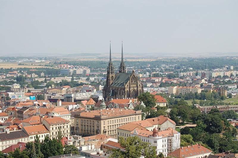 Pohled na Brno od Špilberku