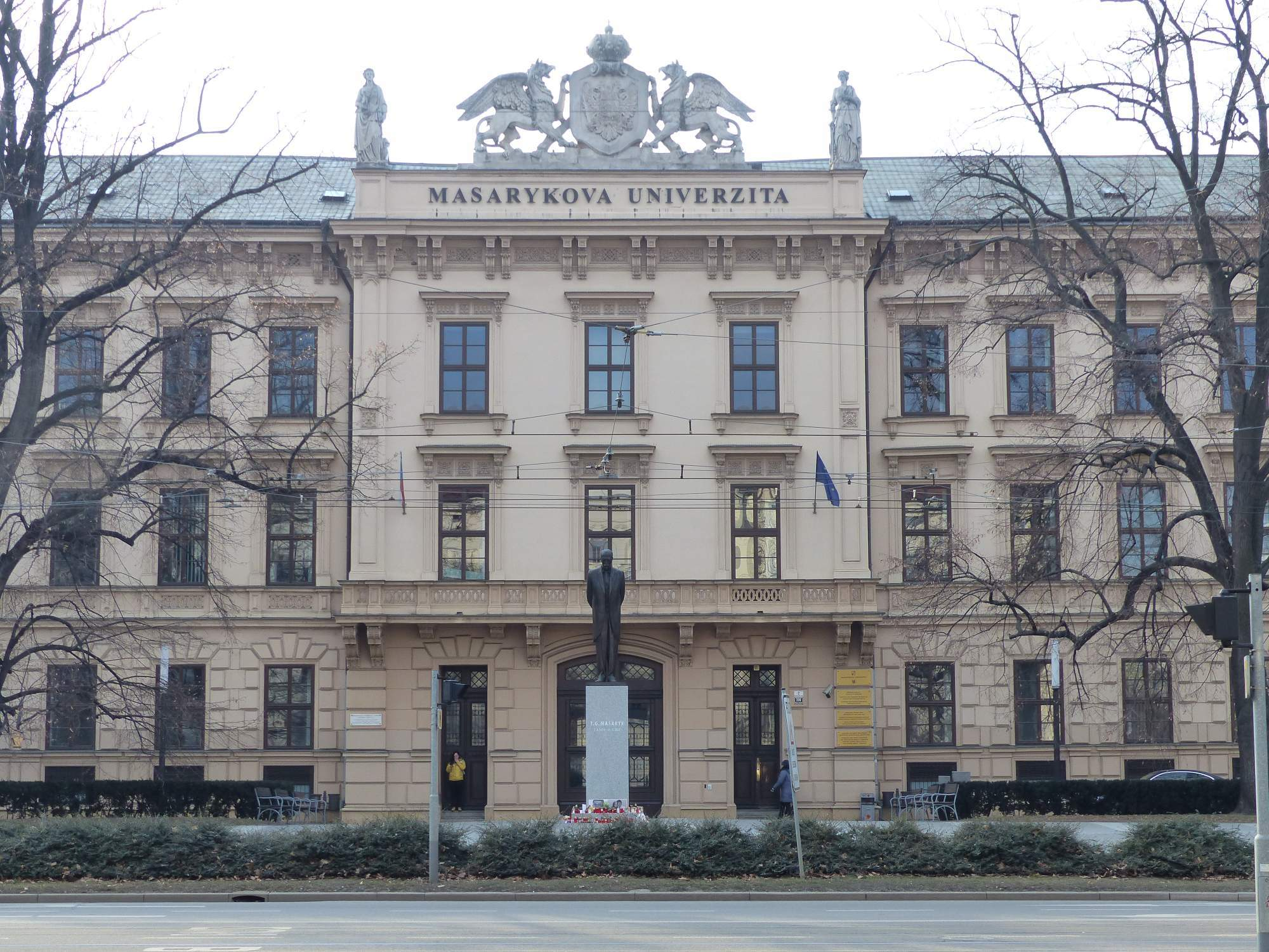 Masarykova univerzita, ilustrační foto; Autor: Richard Kuczinský