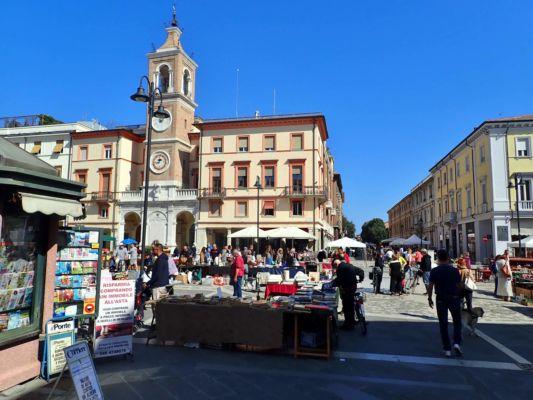 historické centrum Rimini