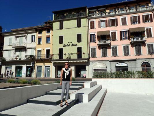 městečko Salo na Lago di Garda