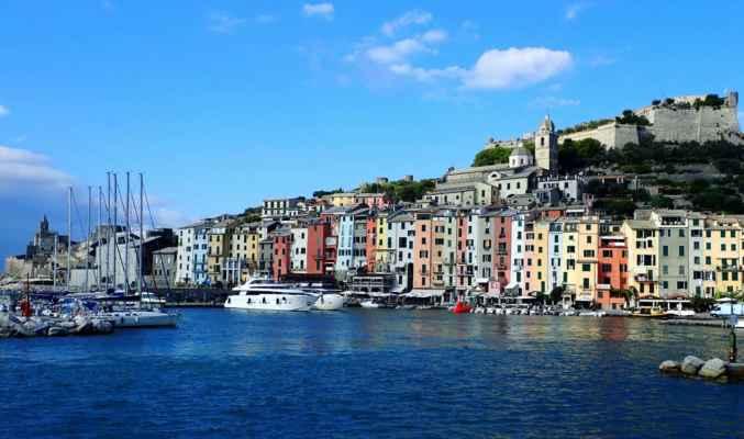 první z městeček na 5 Terre - Porto Venere