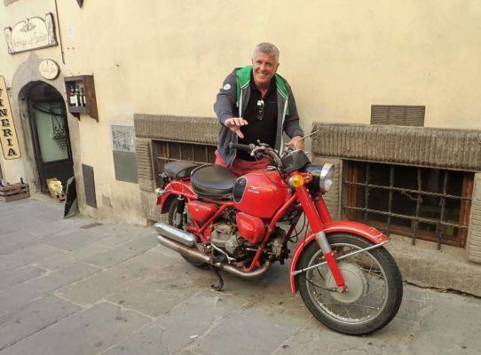 Moto Guzzi - jak jinak v Itálii