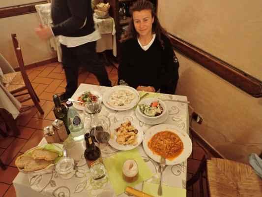 rodina majitele byla velmi úslužná a pokrmy vynikající