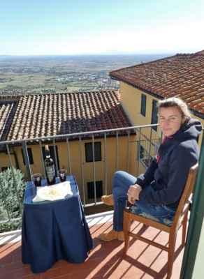 pohoda na balkoně