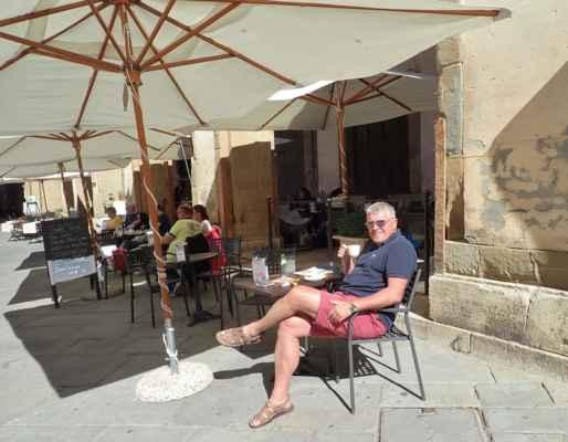 potkali jsme tady i pravého Itala, dávajícího si Café Lungo