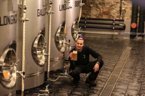 to je naše sládková pivovaru Žaneta - foto je převzaté z Facebooku