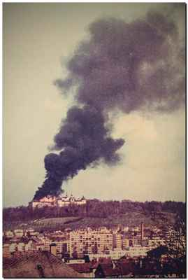 požár jsem viděla na vlastní oči...