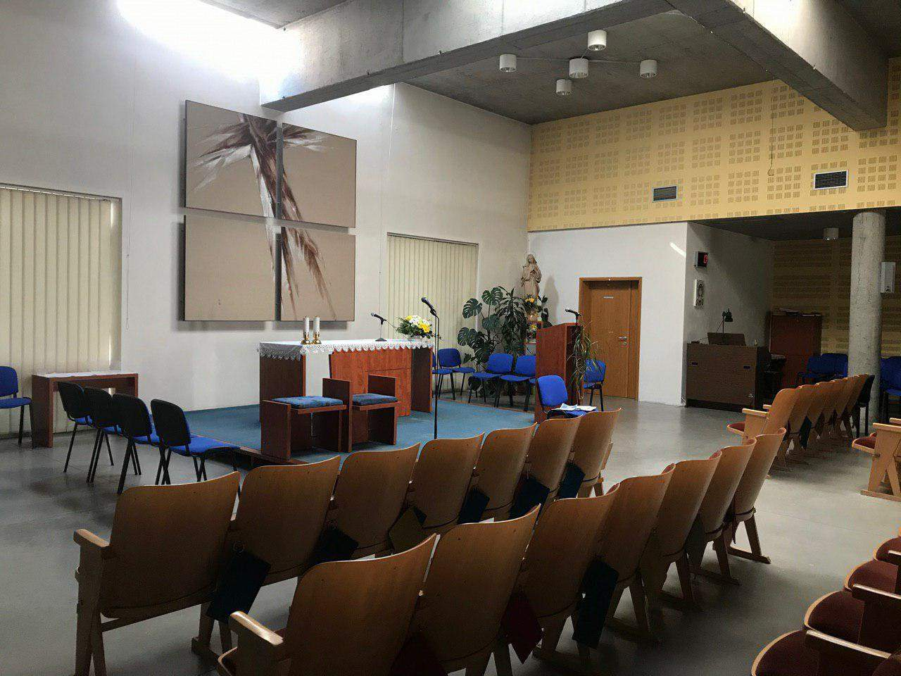 Duchovné centrum nahrádza veriacim z Lesnej kostol. Foto: Alžbeta Kyselicová