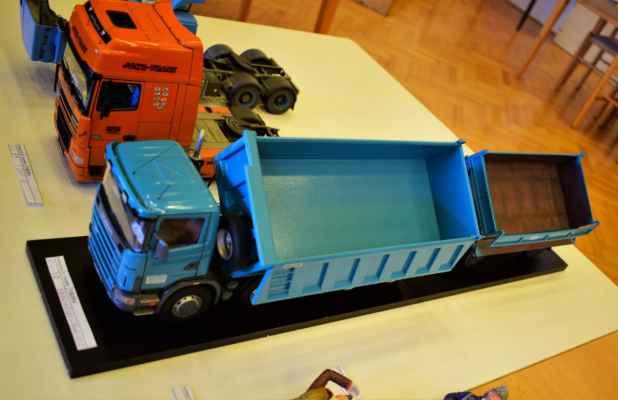 Scania R124c + Panav PS2