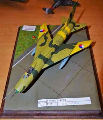 Suchoj Su-7BM, cvičení čtít 84, model SVIT 1 : 72