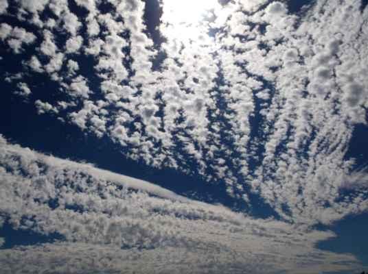 Obloha maluje...