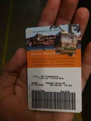Vstupenka na lanovku na břehu řeky Douro - Cena velká, zážitek větší!