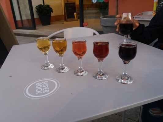 Ochutnávka portských tradičních vín - Vzhledem k obsahu alkoholu v portském víně je tohle celkem sebevražedná mise, ale každá zkušenost dobrá :-D