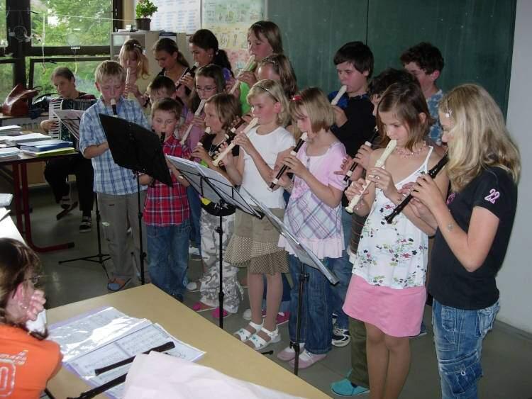 Závěrečný flétnový koncert