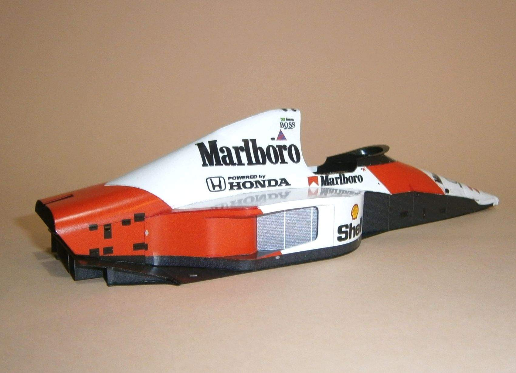 McLaren MP4-5B - A.Senna, GP Japan 1990