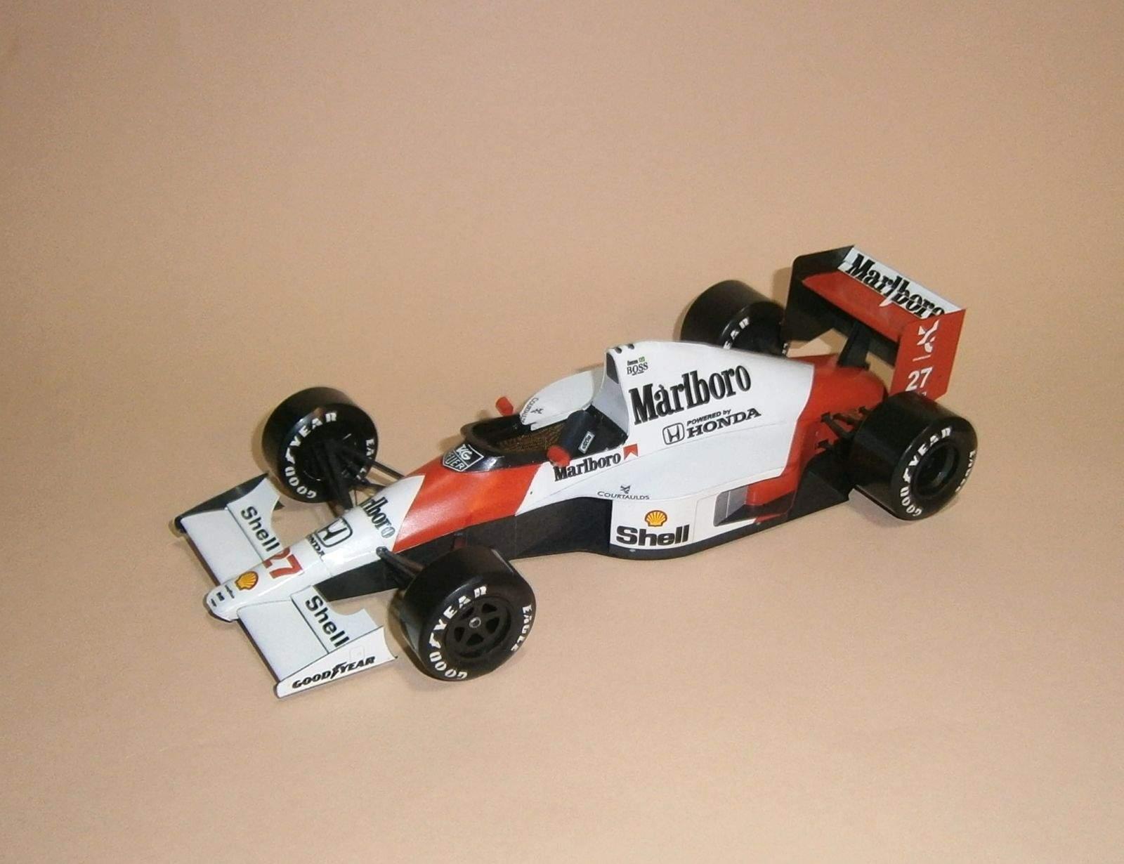 McLaren MP4-5B - A.Senna, GP Japan 1990
