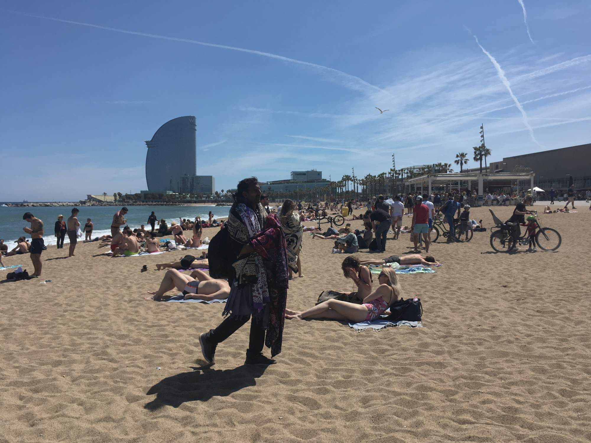 Pláž Barceloneta