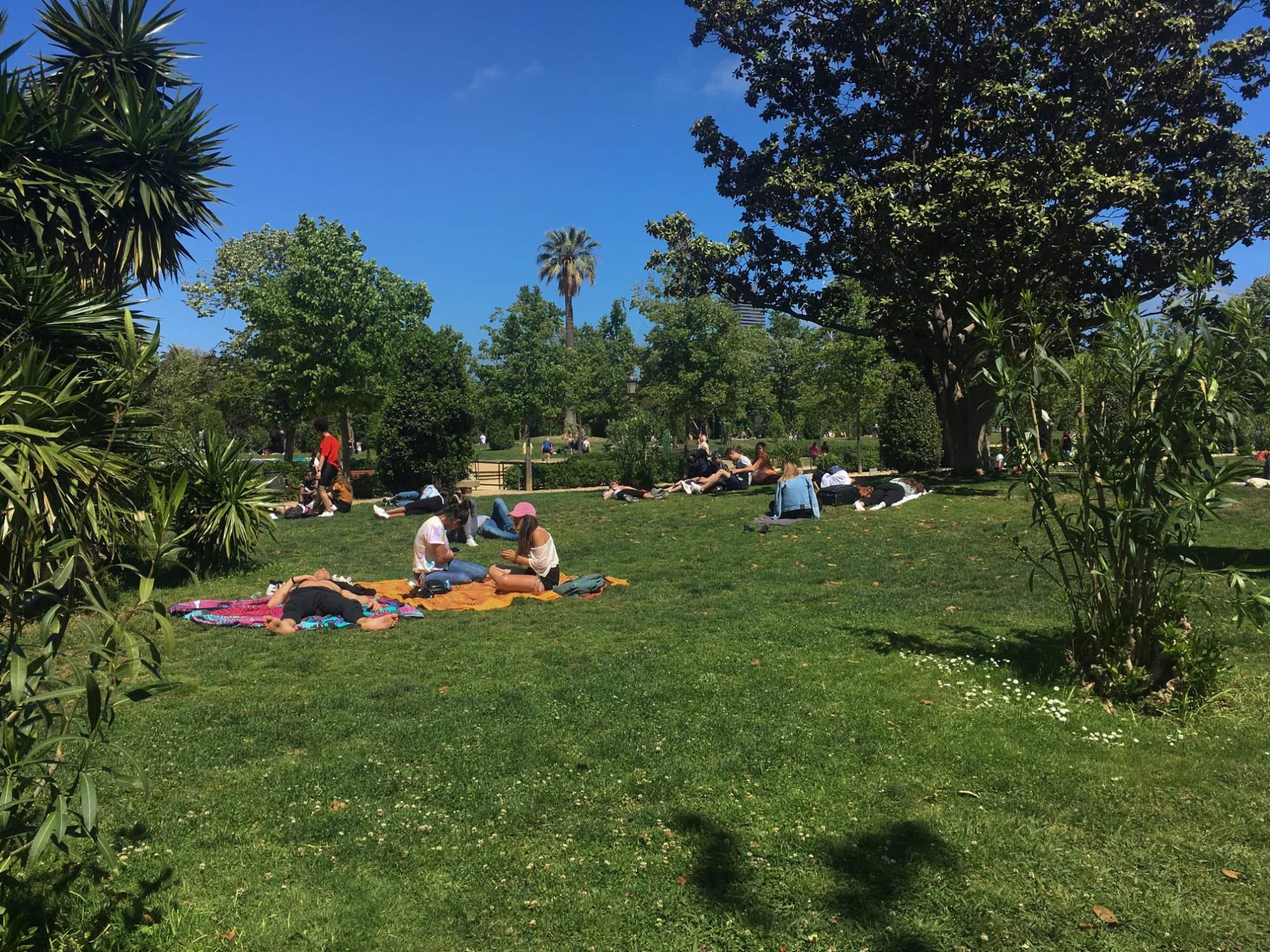 Parc de la Ciutadella  je místem klidu v srdci velkoměsta