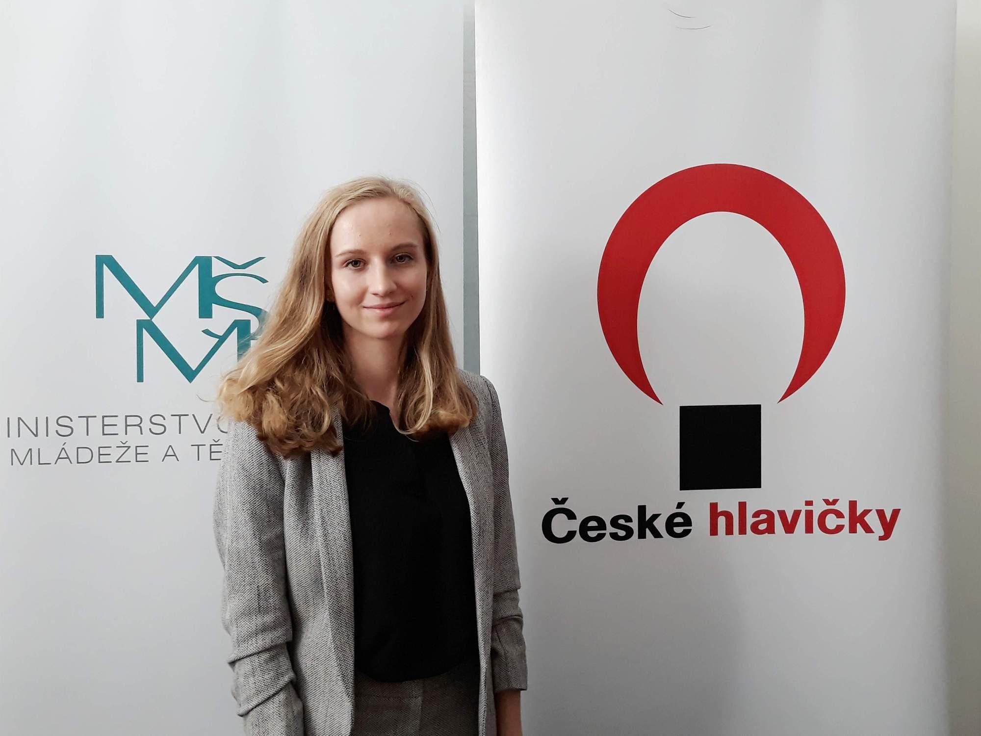 Laureátka soutěže Nikola Svobodová. Foto: Miroslava Putzlacherová