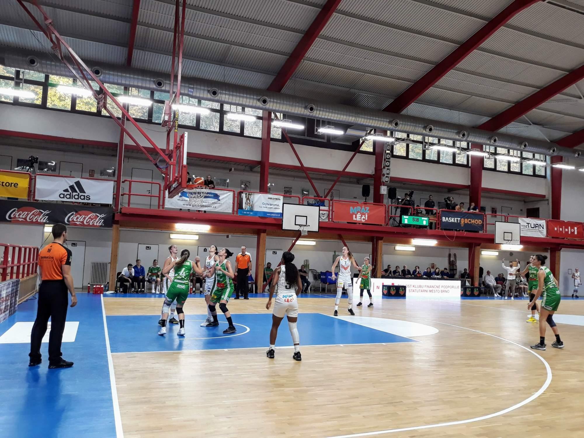 Zápas KP Brno a Žabin. Foto: Miroslava Putzlacherová
