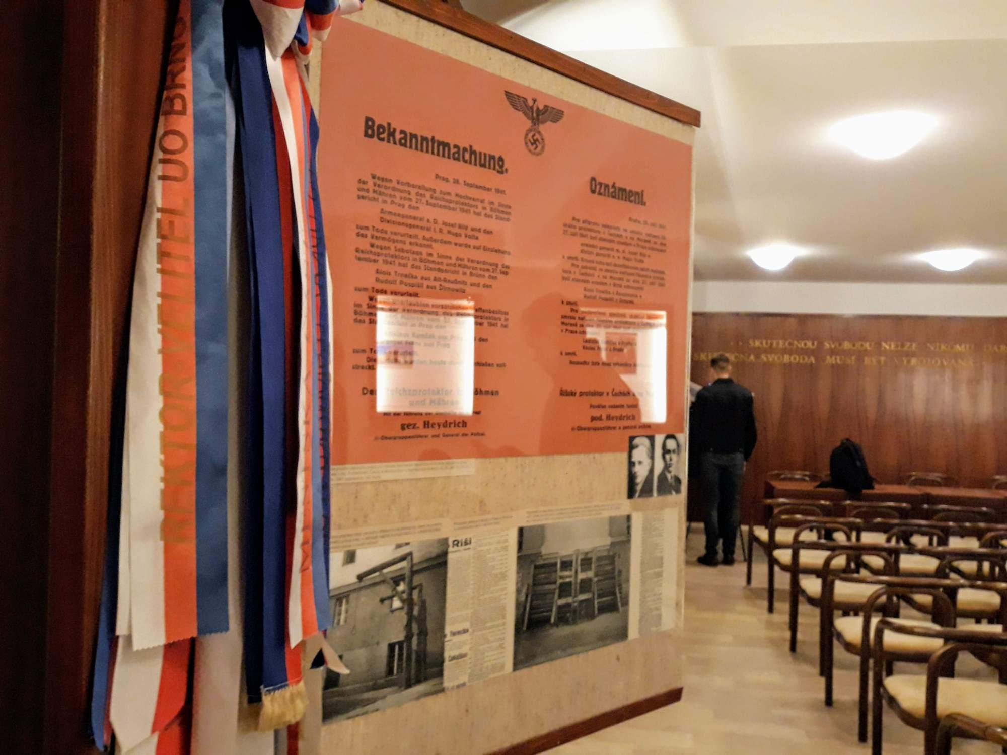 Pamětní síň v Kounicových kolejích. Foto: Miroslava Putzlacherová
