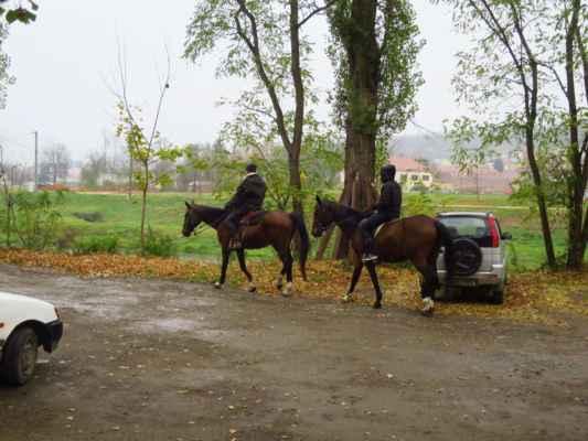 někdo jezdí autem, někdo je rád na koni :-)