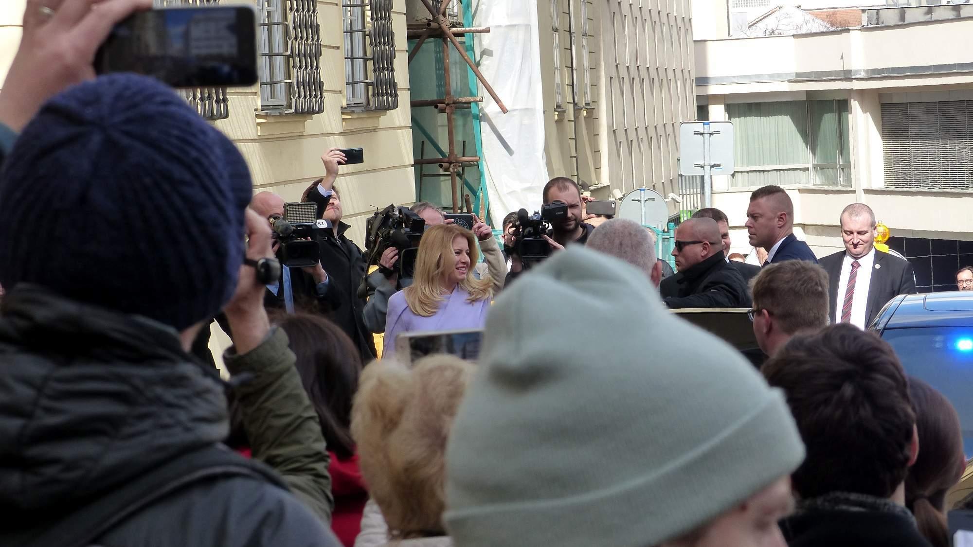 Zuzana Čaputová ako hlava štátu Slovenska prvý krát navštívila Brno