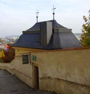 Staré zámecké schody 5 - Velká  Fürstenberská zahrada