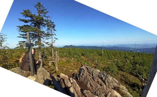 Třetí zářijové ráno na Svarohu 1334 m s pěknými výhledy
