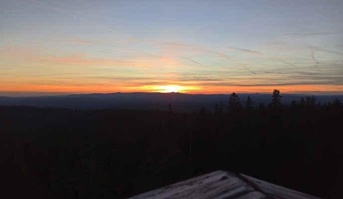 a po západu Slunce, za Roklany :)