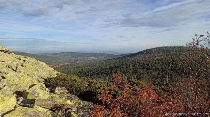 Pohled do údolí Březníku