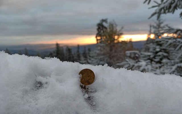měření sněhu :-)
