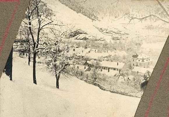 Zimní pohled z Bozinky