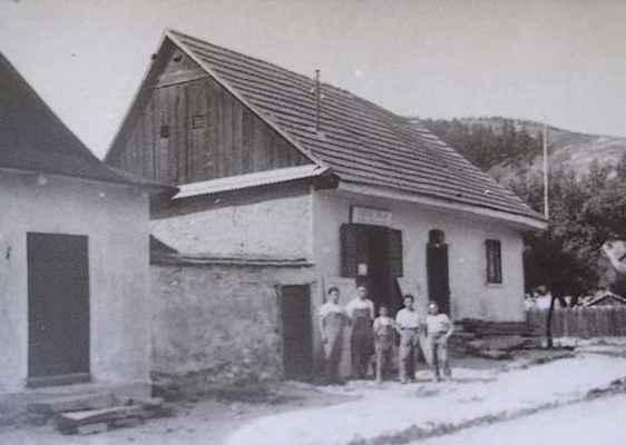 """Domek č.31 v """"Uličce"""" pod kostelem počátek 20.stol."""