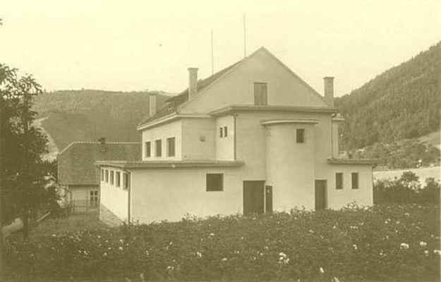 Doubravnická sokolovna - rok 1935