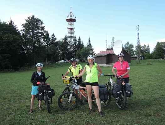Kozákov, 744 m n.m. - první vrchol dobyt :o)))