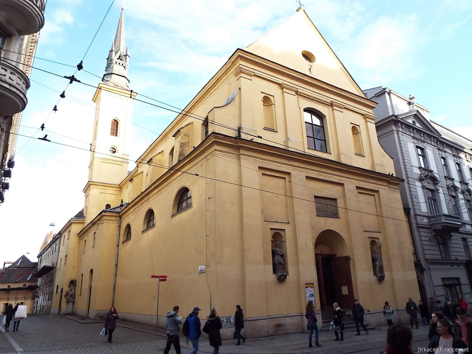 Brno - Kostel svaté Máří Magdalény - celkový pohled