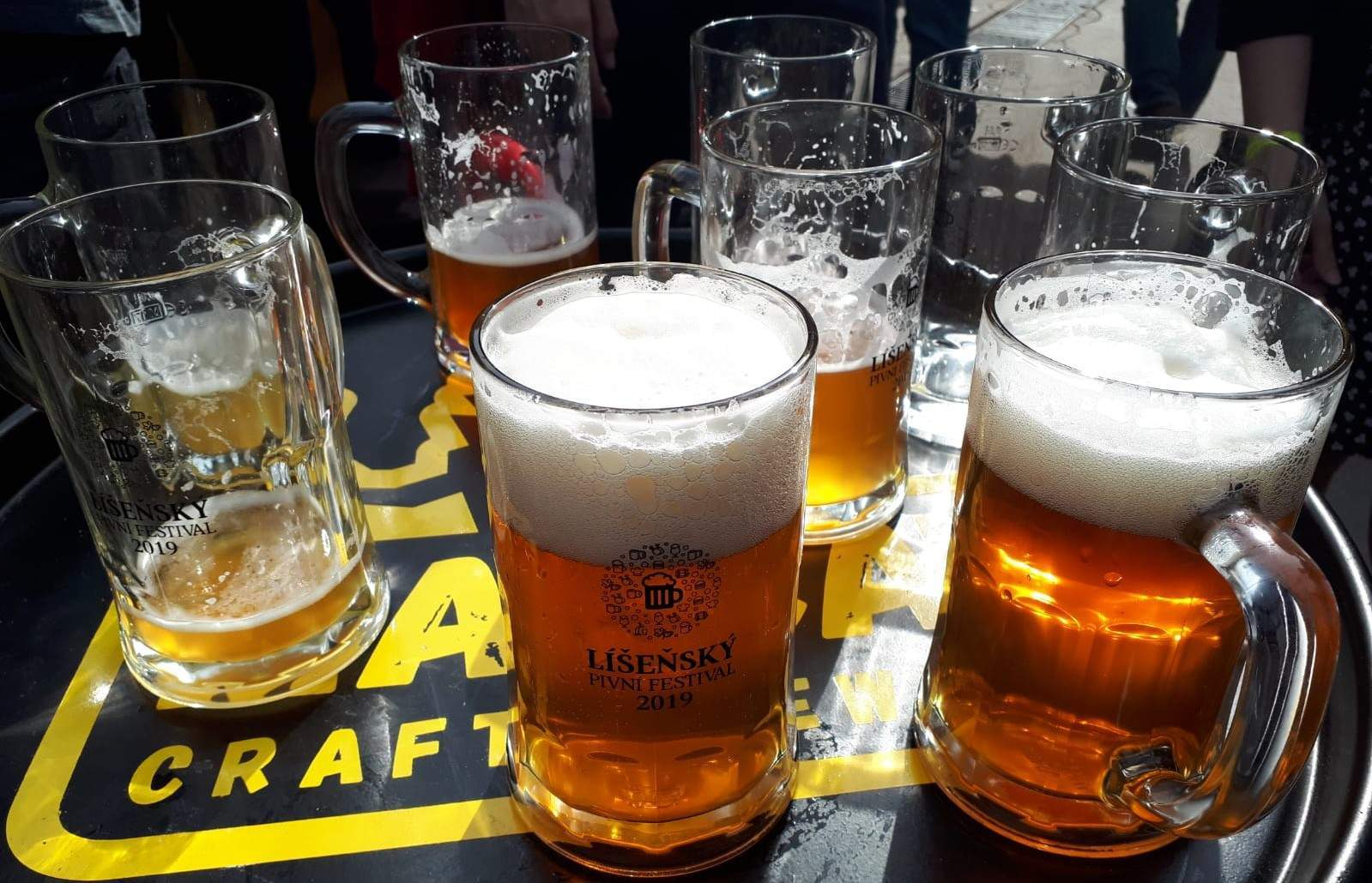 Líšeňský pivní festival. Foto: Lucie Kohoutková