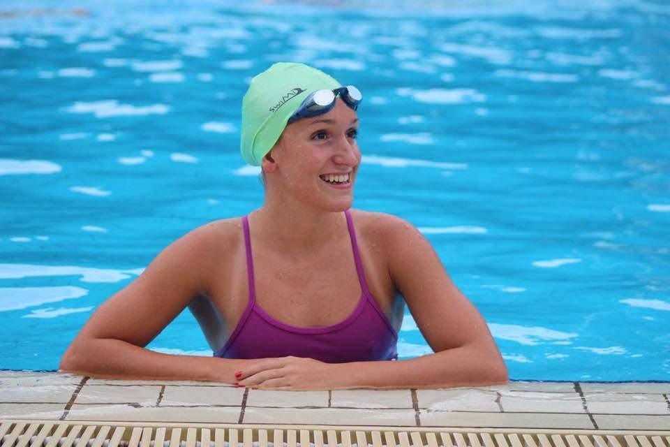 Dálková plavkyně Alena Benešová