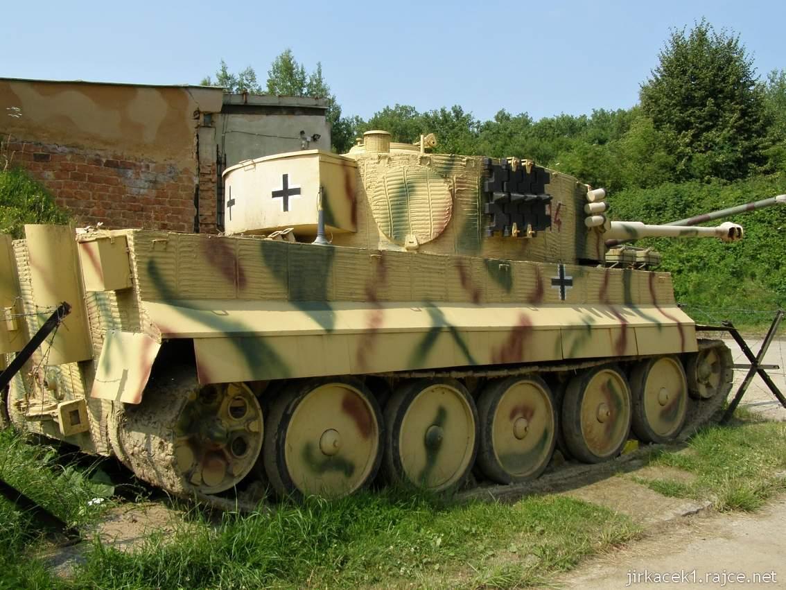 muzeum na demarkační linii Rokycany 01 - tank TIGER I