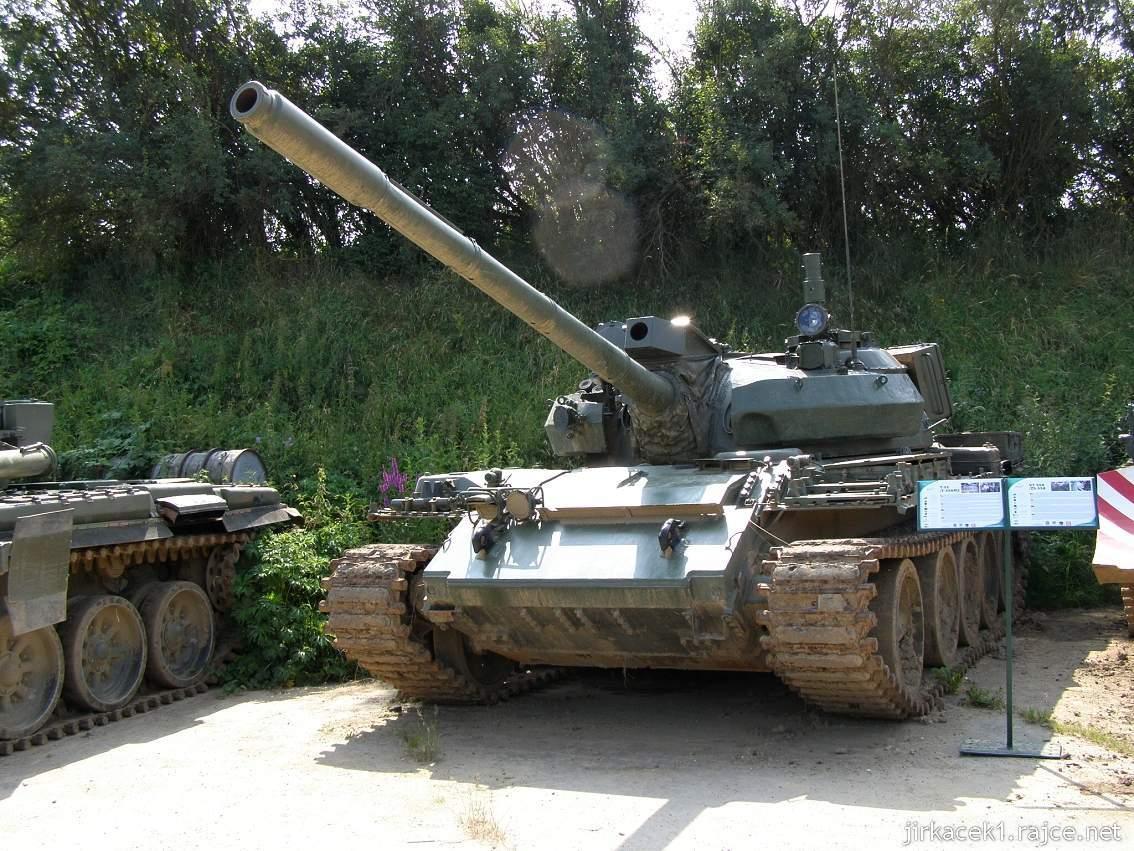 muzeum na demarkační linii Rokycany 03 - tank T-55