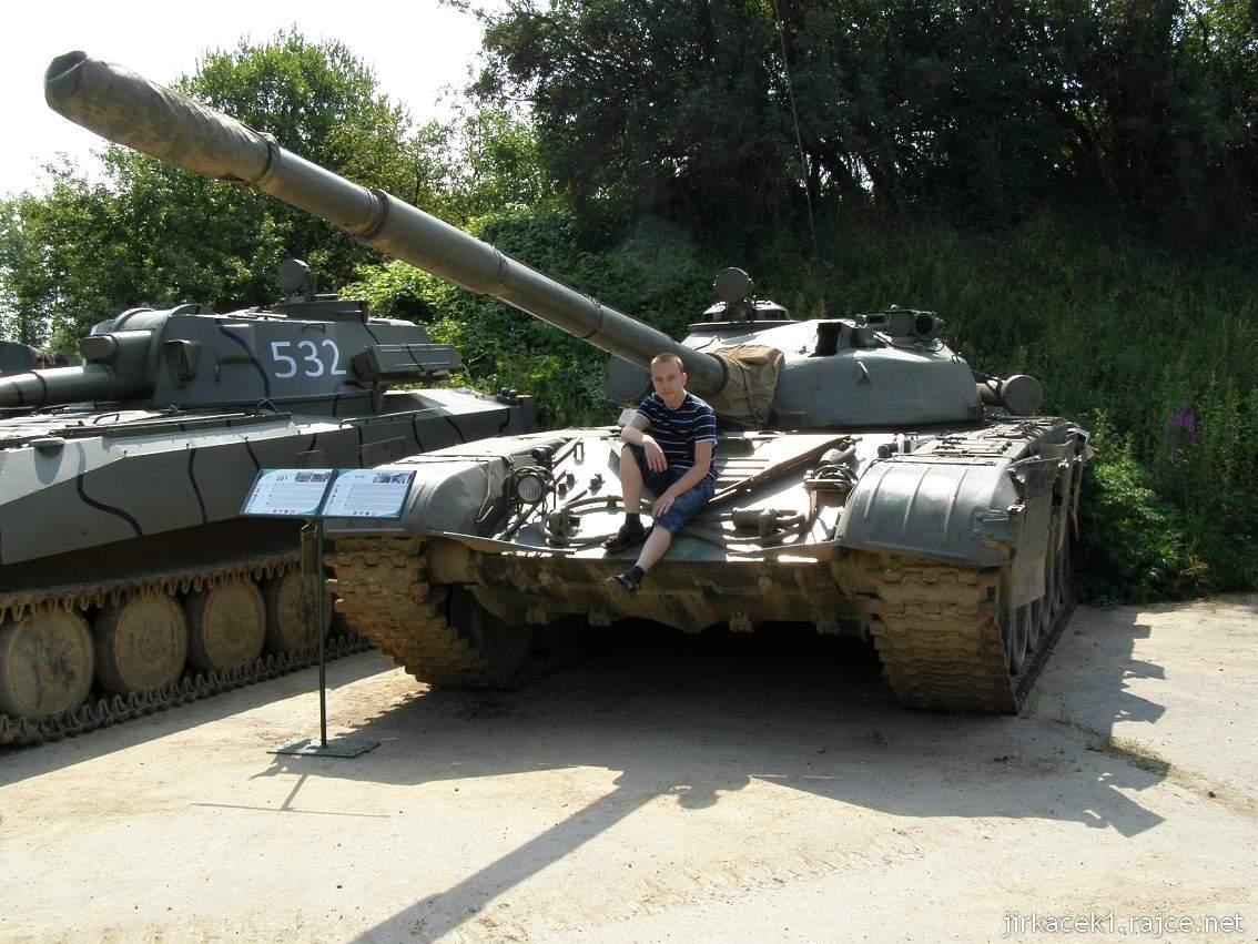 muzeum na demarkační linii Rokycany 04 - tank T-72