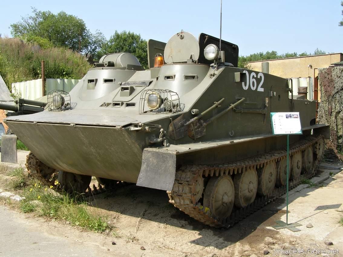 muzeum na demarkační linii Rokycany 06 - obrněný transportér OT-62