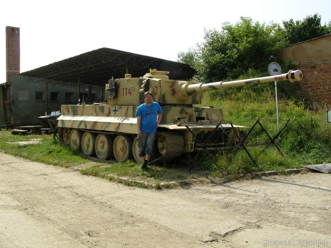 muzeum na demarkační linii Rokycany 15 - tank TIGER I