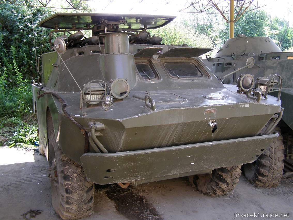 muzeum na demarkační linii Rokycany 19 - samohybný protitankový komplet 9K-133